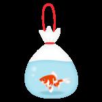 金魚の水やブクブクなし