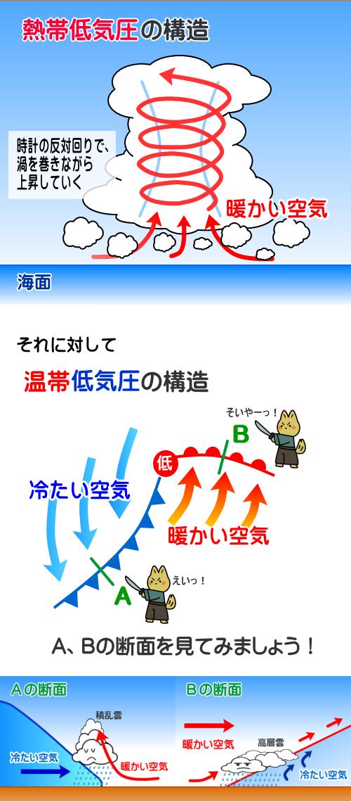 台風の構造変化