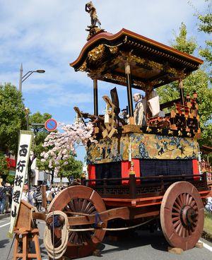 大津祭の見どころ「曳山」