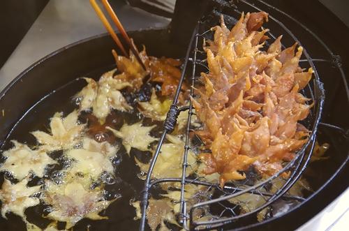 もみじの天ぷらの作り方