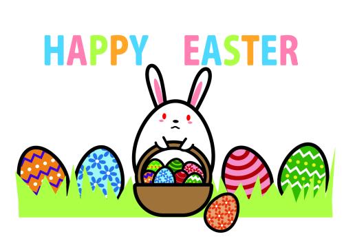 イースターの卵とうさぎの意味
